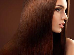 Shiny Long Straight Hair